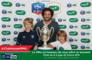 Agence Havas Sports Entertainment - Cup Final France - Malibu Auxerre - May 26, 2015 - Photocall