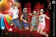 -  - Agence Creativ'Link - Stand Societe Generale - Rock en Seine Festival  - 23 to 25 August 2013 - Photomontage -  -