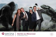 Avec Un Grand H Agency - Evening Gecina - Showcase - December 19, 2013 - Photomontage