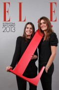 Parti Pris Agency - ELLE Magazine's Party - Pavillon Wagram - Photocall - 2012 December 11th