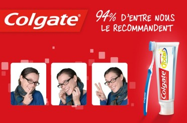 Photocall multiposes Colgate
