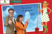 Buzz Native Agency - Animation stand Groupama - Innov'Agri FairPhotomontage - from 4 to 6 September 2012