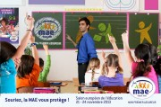 Granit Communication Agency - Stand Animation MAE - European Fair Education - from 21 to 24 November 2013 - Photomontage
