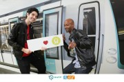 Agence Magic Garden - Launch new subway train - Saint-Augustin Station - from 21 to 25 October 2013 - Photocall