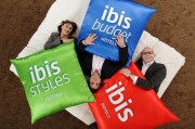 Accor - Promotion for 3 new brands IBIS - Novotel Tour Eiffel - 2012 May 22Keep Your Head Up