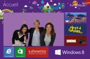 CWT Meetings Agency - Promotion for Windows 8 - Campus Microsoft - 2012 October 24th - Photomontage - 4 Visuals