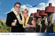 Coups d Eclat Agency - Lan Airlines Party - L'Arc - Photomontage -  2010 June 22th