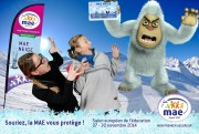 Granit Communication Agency - Stand Animation MAE - Education Fair - from 27 to 30 November 2014 - Photomontage