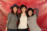 Europe Events Agency - Christmas Clarins - Hall d'expo Pontoise - December 13, 2013 - Photocall