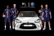 Agence Lever de Rideau - Animation for Citroen - Preliminary Match Handball - Coubertin Stadium - November 19, 2014 - Photomontage