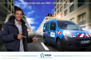 Havas Sports Agency - Animation stand ERDF - Hotel de Ville Place - 2012 September 22 and 23 - Photomontage