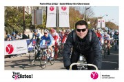 Animation stand Conseil General des Yvelines - Paris/Nice Race - Photomontage - 2012 March 3rd