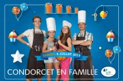 GDRF - Condorcet Family - in their premises - 4 July 2015 - Photomontage