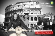 Page2Pub Agency - Animation Auchan Mall for Valentine's Day - Strasbourg - Photomontage - 2012 February 11th