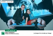 BNP PARIBAS - Internal Event - in their office - February 9th 2016 - Photomontage