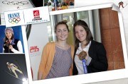 BPCE - Coline Mattel dedication - in their premises - May 15, 2014 Live -